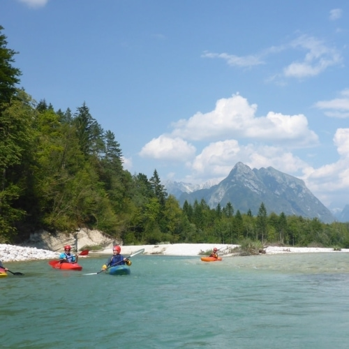 Grundkurs Wildwasserkajak Soca