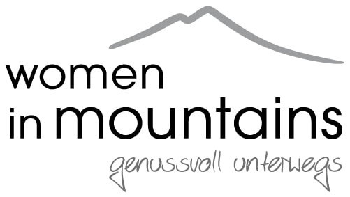 women in mountains
