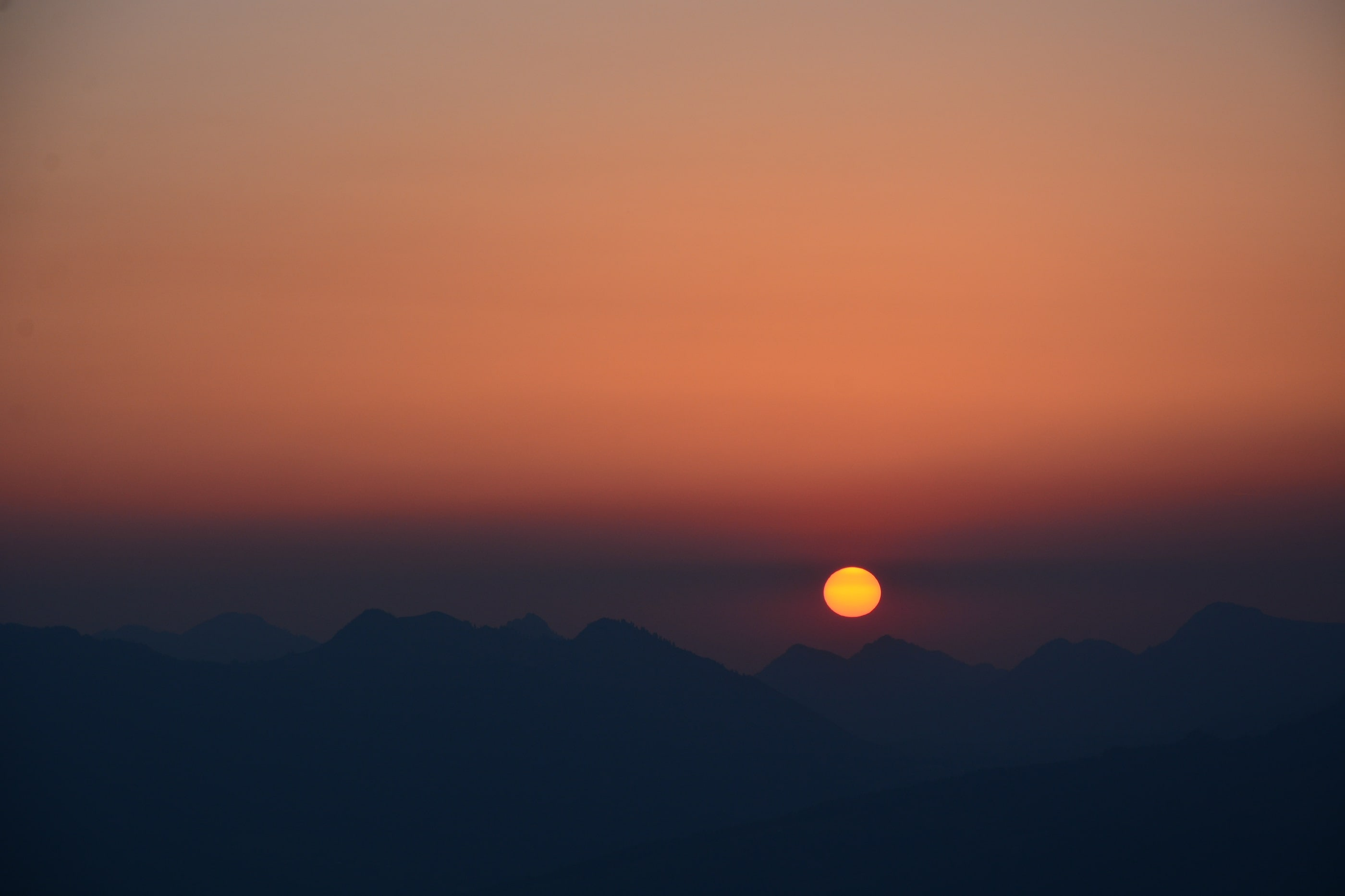 Sonnenaufgang am Besler