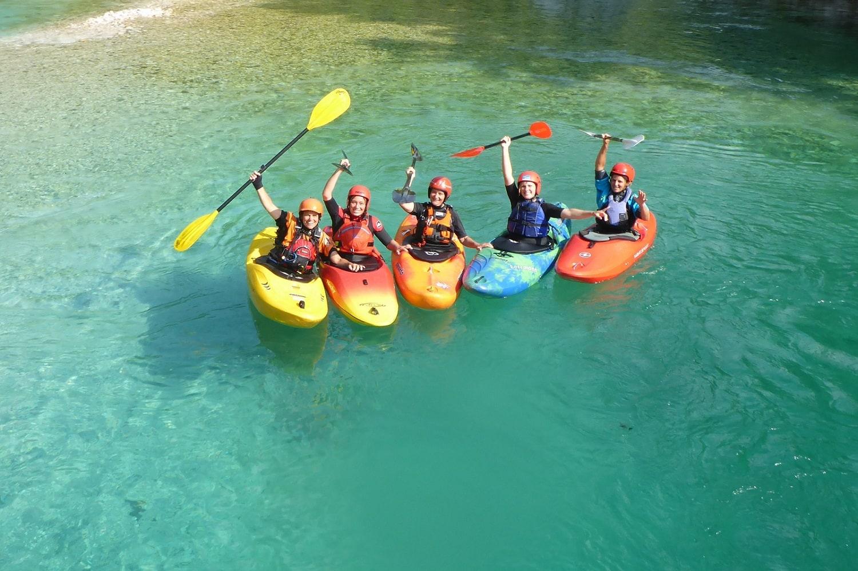 Wildwassercamp Soca Gruppenbild