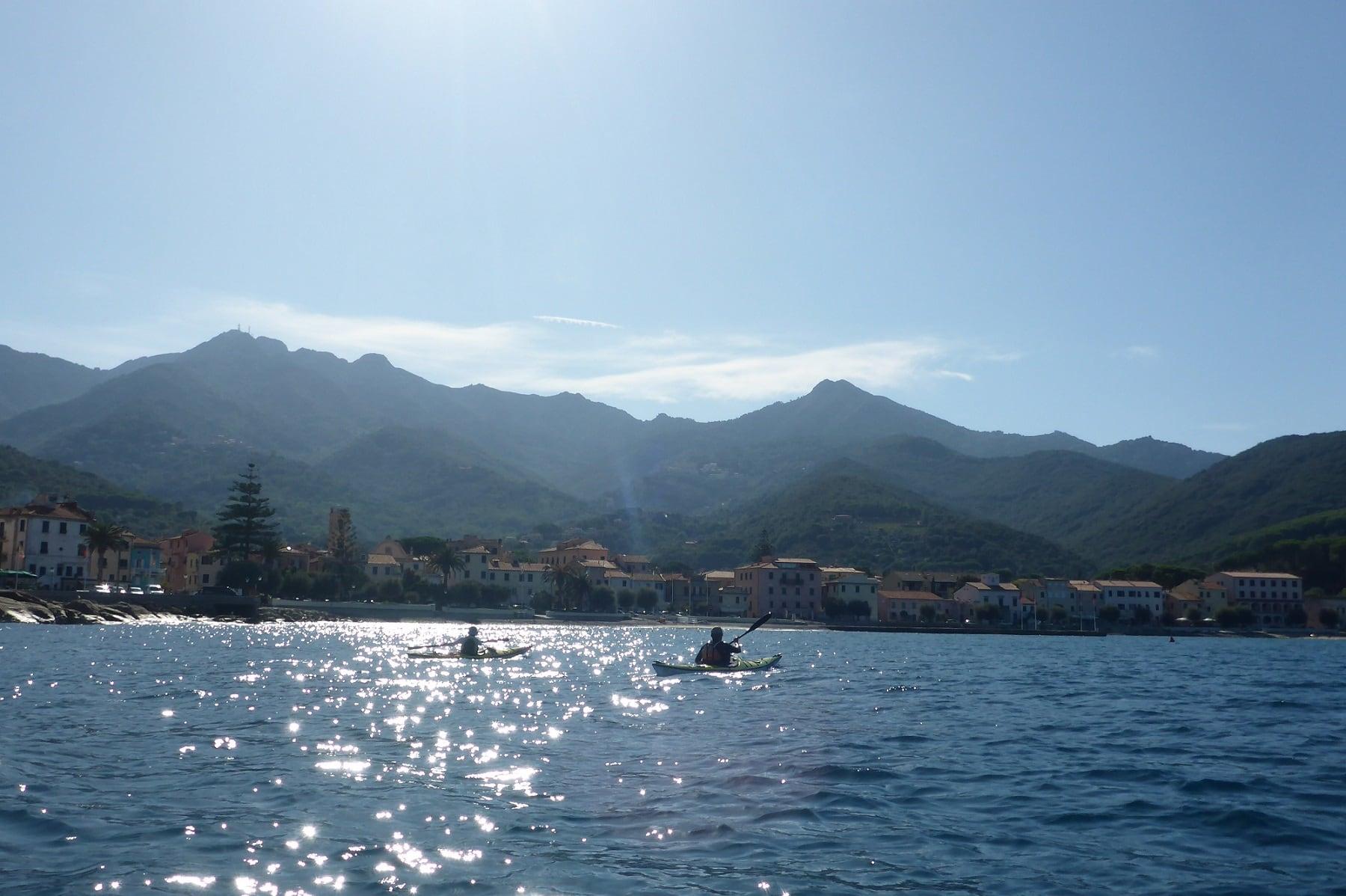 Ankunft in Marciana Marina das Ende der Inselumrundung