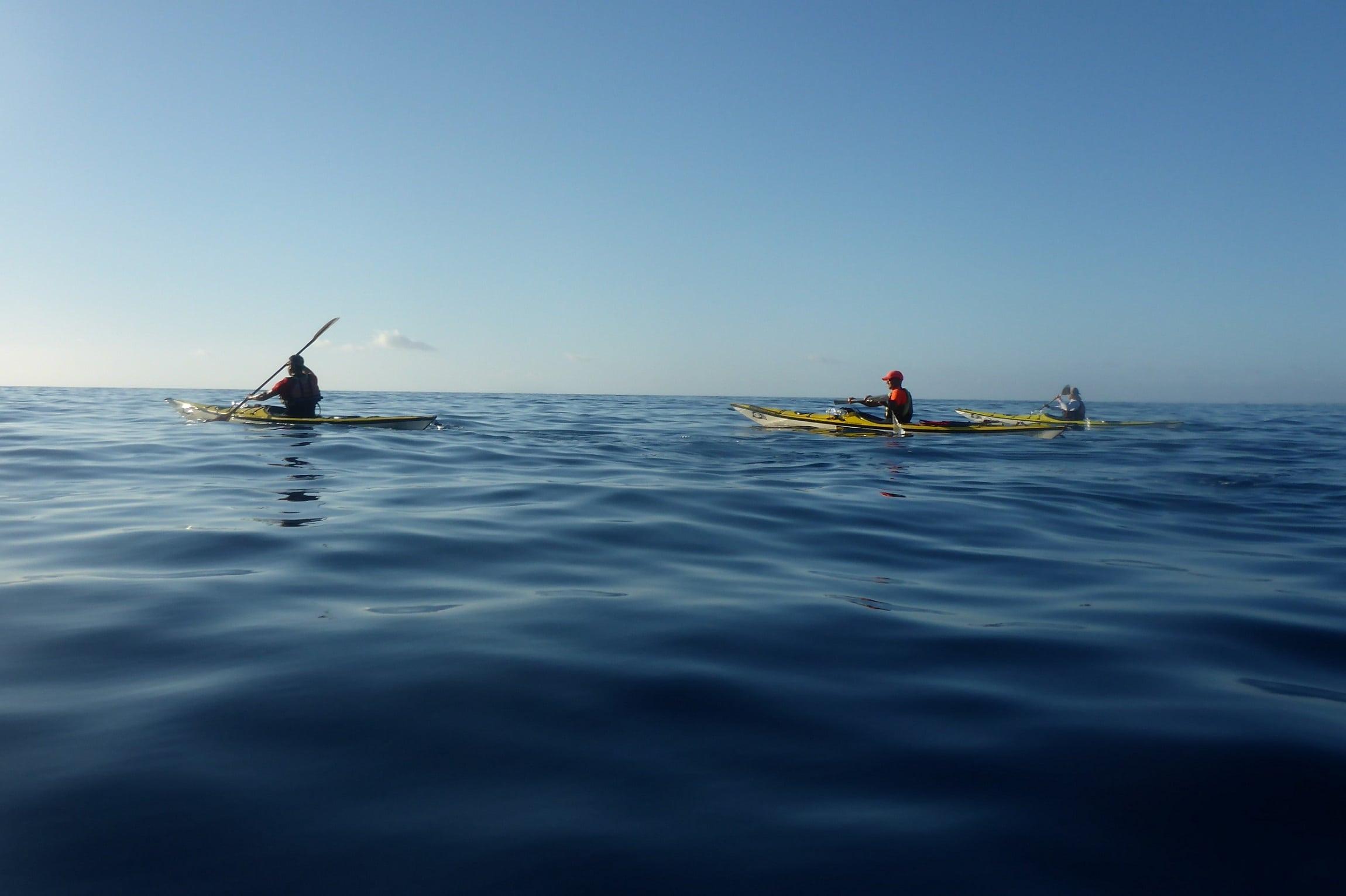 Morgenstimmung auf dem Meer