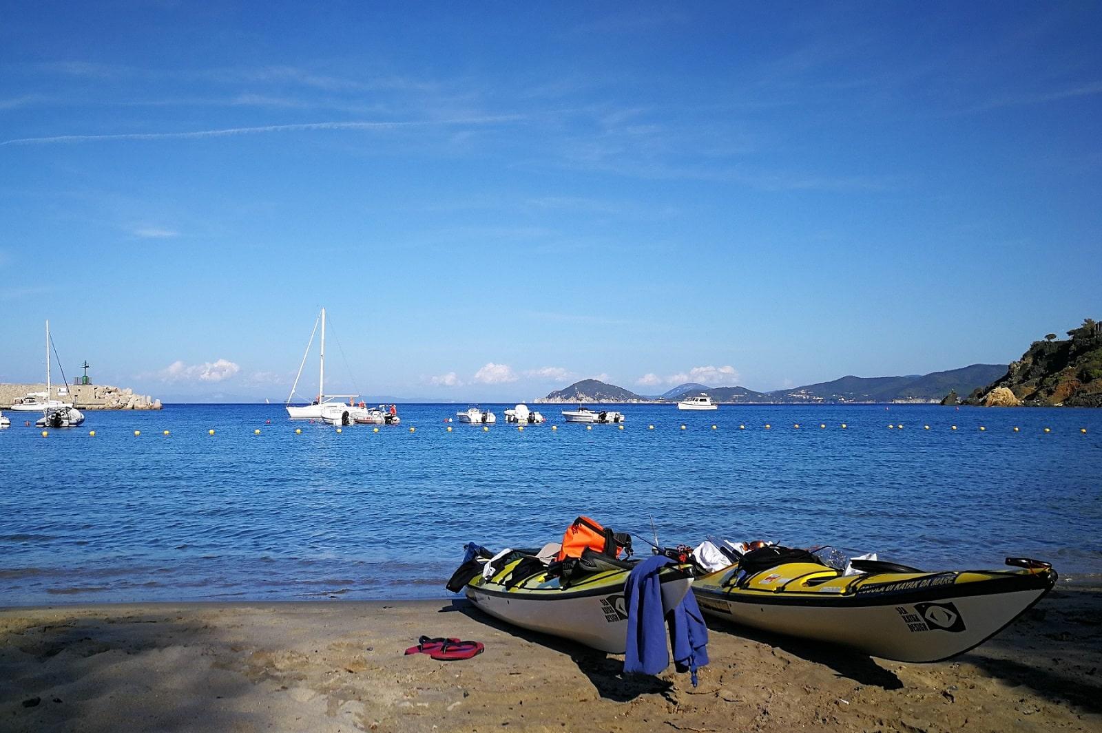 es endet dort wo es begonnen hat im Hafen von Marciana Marina